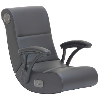 black rocking chair commercial seating chairs gaming with bluetooth audio system and arms x rocker target