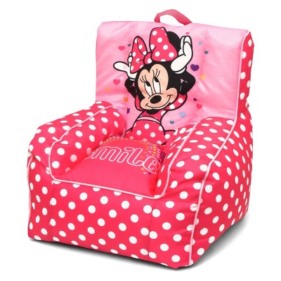 bean bag chair for toddler lift chairs walgreens minnie mouse with handle disney target