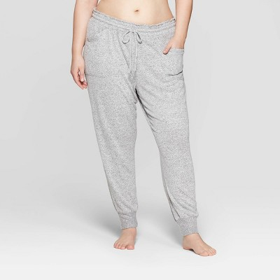 Women's Plus Size Perfectly Cozy Lounge Jogger Pants - Stars Above™ Gray