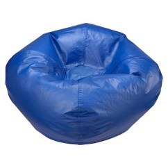 Blue Bean Bag Chairs Around Fire Pit Small Vinyl Chair Ace Bayou Target