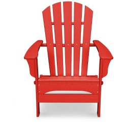 Red Adirondack Chairs Steel Net Chair Polywood St Croix Patio Exclusively At Target