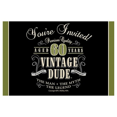8ct vintage dude 60th