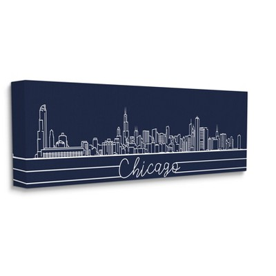 chicago skyline poster target