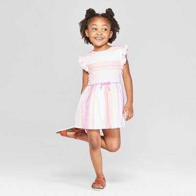 Toddler Girls' A-Line Dress - Cat & Jack™ Light Pink