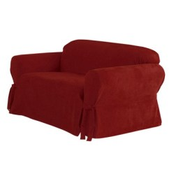 Target Sofa Loveseat Covers Best Beds New York Soft Suede Slipcover Sure Fit