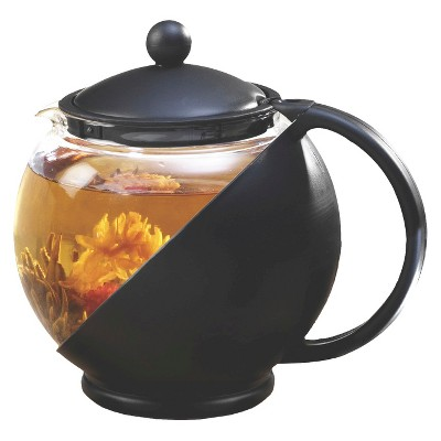 Primula Half Moon Tea Pot Set - Black