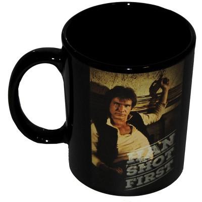 "Star Wars Han Solo ""Han Shot First"" Coffee Mug"