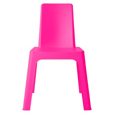 pink kids chair office chairs for tall people julieta square patio resol target