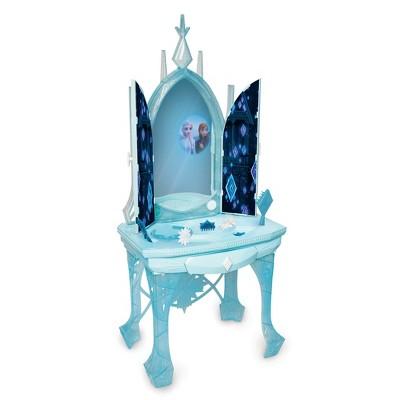 disney frozen 2 elsa s enchanted ice vanity