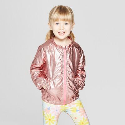 Toddler Girls' Bomber Jacket - Cat & Jack™ Pink