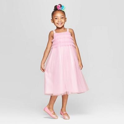 Toddler Girls' Ruffle Maxi Dress - Cat & Jack™ Light Pink
