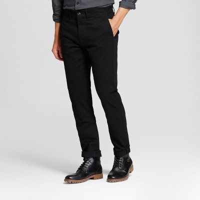 Men's Slim Fit Hennepin Chino Pants - Goodfellow & Co™ Black