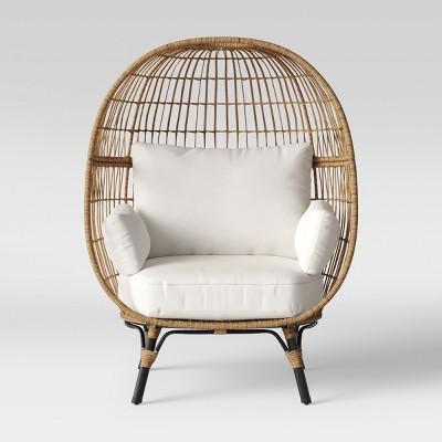 southport patio egg chair linen opalhouse