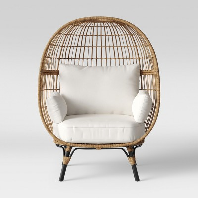 egg wicker chairs outdoor red barber southport patio chair opalhouse target