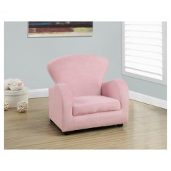 Fuzzy Sofa Deep Seated Uk Kid S Chair Pink Fabric Everyroom Target