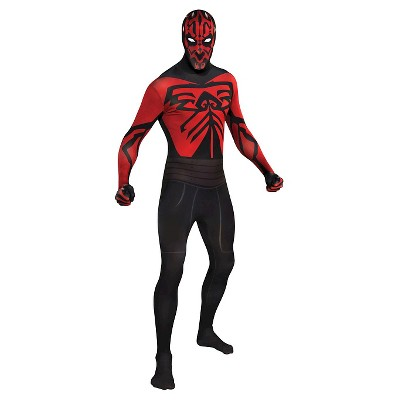 Star Wars Men's Darth Maul Skin Suit Costume