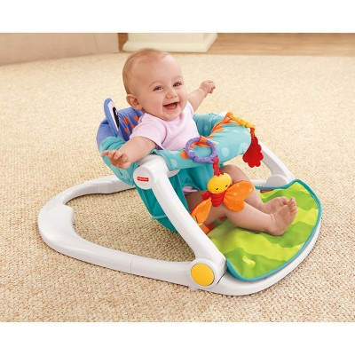 chair to help baby sit up desk next day delivery fisher price me floor seat target 4 more