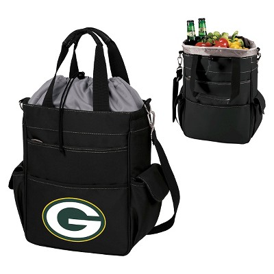 NFL Activo Cooler Tote by Picnic Time -Black