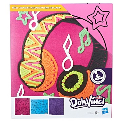 DohVinci Music-Themed Art Boards by Play-Doh