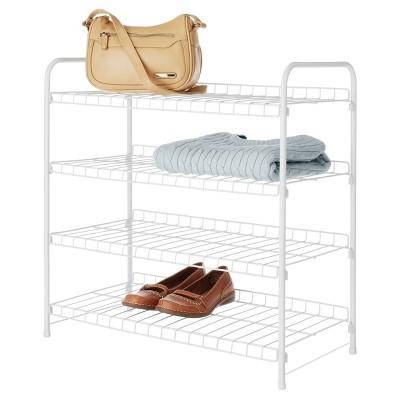Whitmor 4-Tier Closet Shelves - White