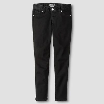 Girls' Super Skinny Jeans - Cat & Jack™ Black