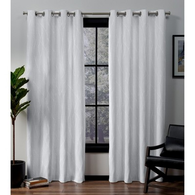"Forest Hill Woven Blackout Curtain Panels (54""x108"") - Exclusive Home®"
