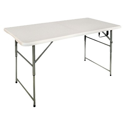 target folding table and chairs floor lounge chair 4 banquet off white plastic dev group about this item