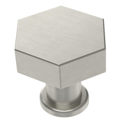 Hexagon Knob (2pk) Satin Nickel - Project 62™