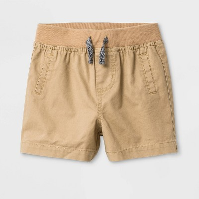 Baby Boys' Twill Chino Shorts - Cat & Jack™ Tan