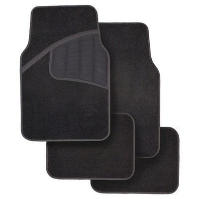 Rubbermaid Carpet Floor Mats Black 4pk