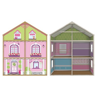 My Girls' Wooden Dollhouse for 18'' Dolls - Dollie & Me Style