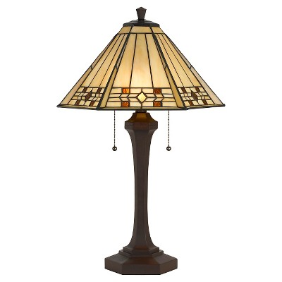 Cal Lighting 60W X 2 Tiffany Table Lamp (Lamp Only)