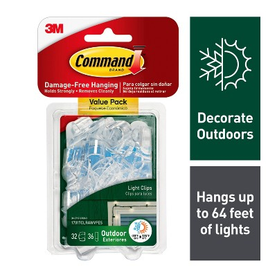command clear outdoor light
