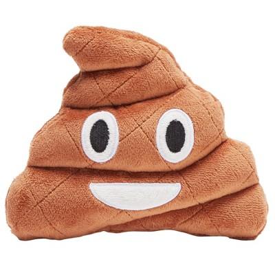 BARK Brownie The Happy Poo Emoji Dog Toy
