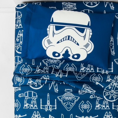 Star Wars Twin Sheet Set Blue