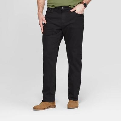 Men's Big & Tall Slim Straight Fit Jeans - Goodfellow & Co™ Black