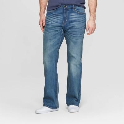 Men's Tall Bootcut Jeans - Goodfellow & Co™ Medium Blue
