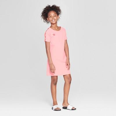 Umbro Girls' T-Shirt Dress