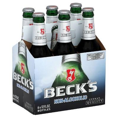 Beck39s Non Alcoholic Beer 6pk 12oz Bottles Target