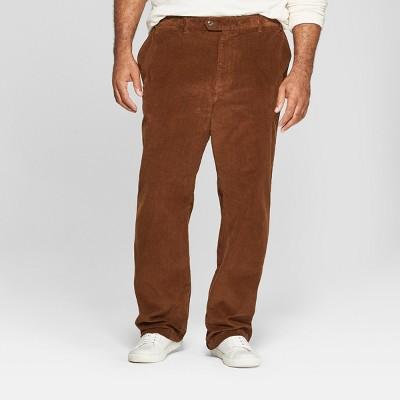 Men's Big & Tall Straight Fit Corduroy Trouser - Goodfellow & Co™