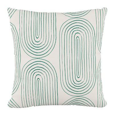 oblong outdoor throw pillow emerald skyline furniture