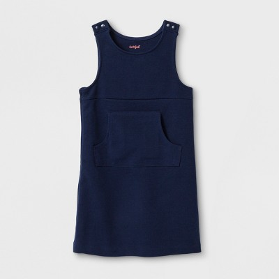 Toddler Girls' Adaptive Sleeveless Uniform Jumper - Cat & Jack™