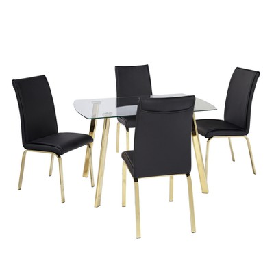 Uptown 5pc Dining Set - Buylateral
