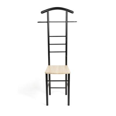 bedroom wardrobe chair valet boss leatherplus executive danya b black target