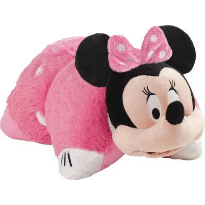 disney minnie mouse pink plush pillow pets