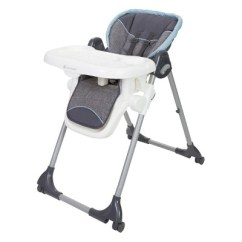 Baby Trend High Chair Recline Quik Shade Dine Time 3 In 1 Starlight Blue Target