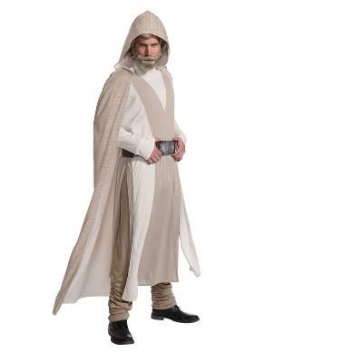 Star Wars Episode VIII - The Last Jedi Deluxe Men's Luke Skywalker Costume L