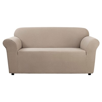 Stretch Leaf Loveseat Slipcover - Sure Fit