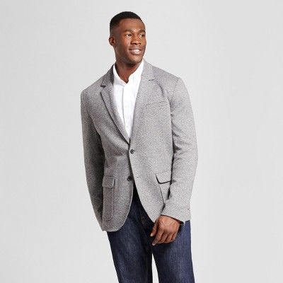 Men's Big & Tall Standard Fit Deconstructed Knit Blazer - Goodfellow & Co™ Gray