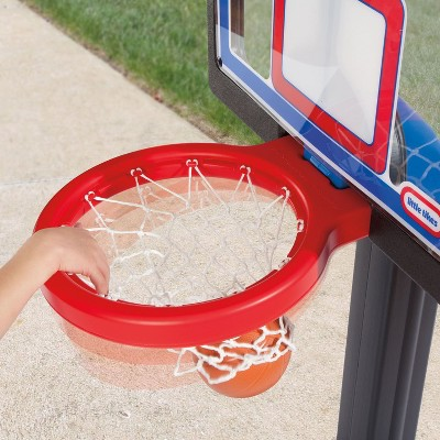 Little Tikes Indoor Outdoor Kids Play Toy Portable Basketball Hoop Set (2 Pack)
